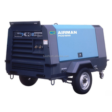 Airman PDS185S portable Diesel screw compressor