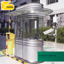 security guard house isolated pre-fabricated house cube ready quick assembly preformed prefabricated row houses