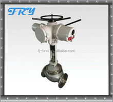 Rotork electric actuated gate valve