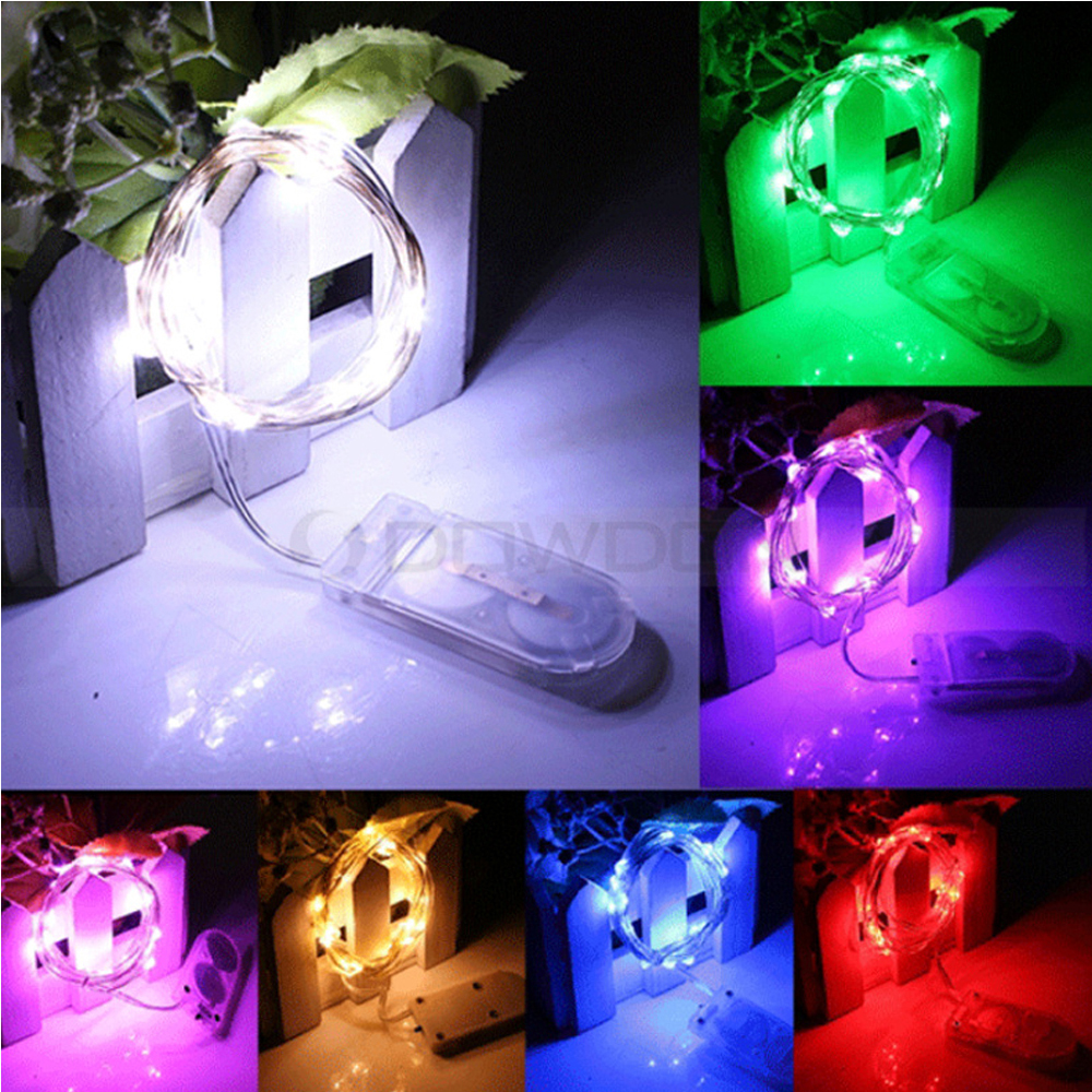 20 LED Holiday Decorative Lights Battery Powered Corridor Outdoor Light