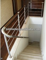 304/316 stainless steel handrail balustrade for stairs