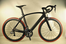 700C aero design road bike full carbon fiber road bike frame/wheelset complete bike