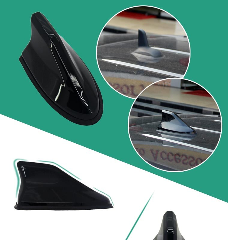 Simple Design Electric Radio Car Shark Fin Antenna