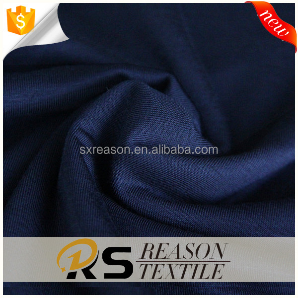 The most popular item viscose/rayon knit fabric with modal handfeel