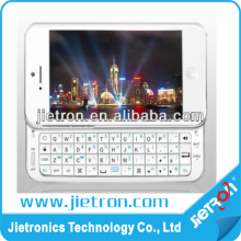Ultra-thin Slide-Out Bluetooth Wireless Keyboard Hard Case Cover For iPhone 5