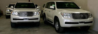 B6 Armored SUV Car - Toyota Land Cruiser