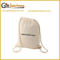 Promotional Personalized Cotton Drawstring Shoe Bag