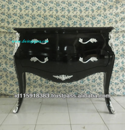 French Furniture Indonesia - Classic Chest of Drawers Commode bombay furniture