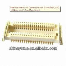Board to Board SMT Connectors with 0.4mm Pitch, SMD 180 and 1.5mm Mate Height