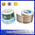 waterproof adhesive labels for plastic bottle