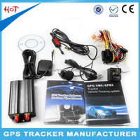 Fast track vehicle gps tracker human gps car tracking device tk103b handphone tracking device