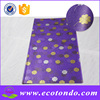 fashion dot design colored greaseproof paper bag for food