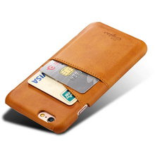 PU Leather phone case with card holder mobile back cover for iphone 8 case