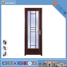 2016 Hot Selling Noise reduction Living room Aluminum Wood Composite internal door for project
