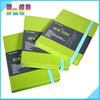 China Supplier Day Planner Hardcover Notebook With elastic band
