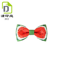 China factory handmade bowtie neck tie for suit and uniform hand made bow for men