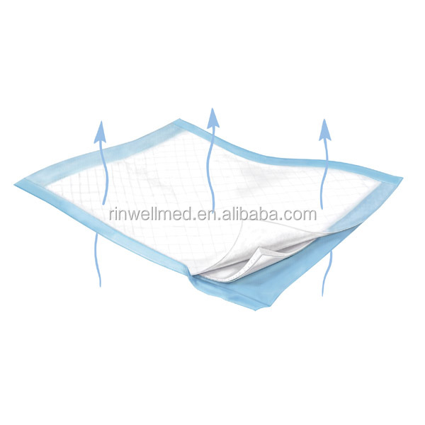 High absorbent hospital disposable underpad