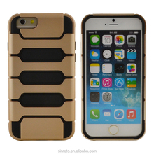 wholesale fashion design premium hybrid armor stand tank phone case For iphone 6 6s
