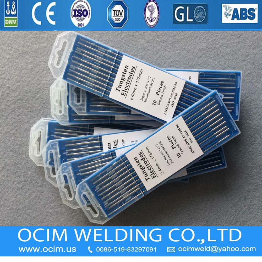 WT20 Tungsten Electrode 1.6mm
