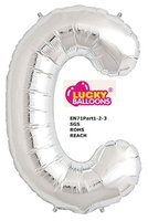 "helium saved refillable 34"" giant alphabet balloons c in store"