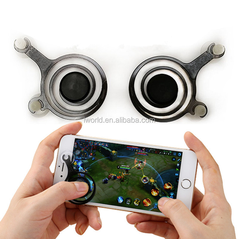 Mini fighting game fling joystick For phone mobile joystick physical handles mobile phone joystick