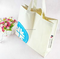 Hot sale recyclable non-woven fabric shopping tote bag