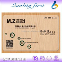 LBD Transparent Business Cards Personal Plastic Cards