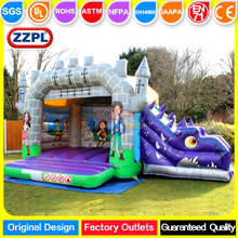 ZZPL Fantastic inflatable jumper for sale Dinosaur inflatable bouncy castle with slide Hot sale inflatable air jumper
