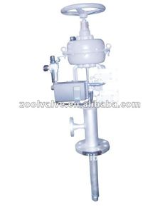 802DS De-superheating Angle Valve with Diaphragm Actuator