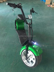 Pleasedin Interesting 1500W more powerful electric scooter big wheel citycoco