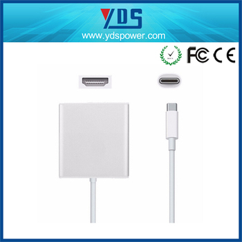 Alibaba made in china USB-C TYPE-C usb power adapter with usb port