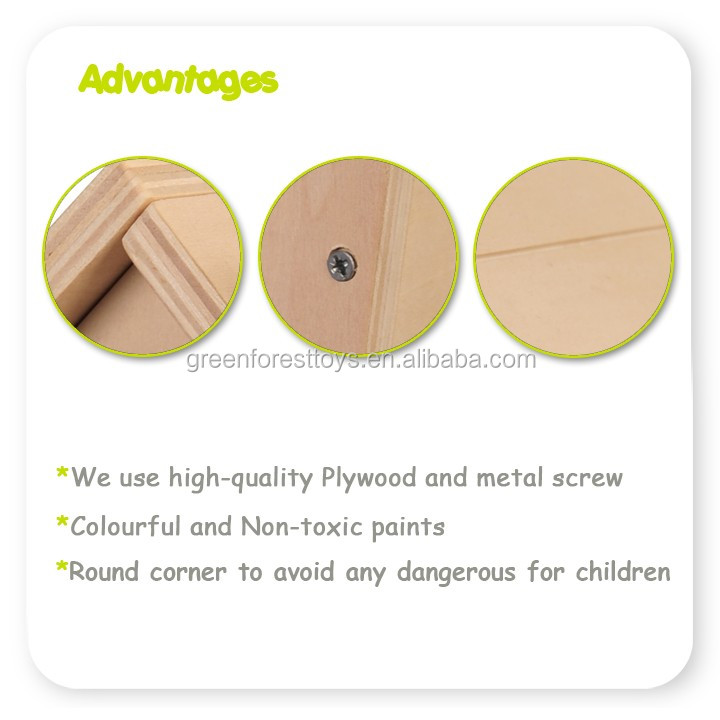 Best selling Build and Paint Intelligent Kids DIY toys For Wooden Bird House
