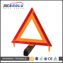 Roadside Emergency Warning Reflective Safety Triangle Flare Kit For Vehicles
