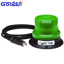 12v Flashing beacon green led warning strobe light