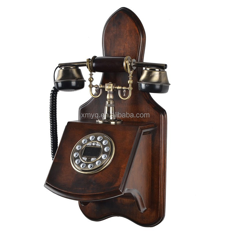 Vintage Style Antique Phones Decorative Retro Corded Telephones ...
