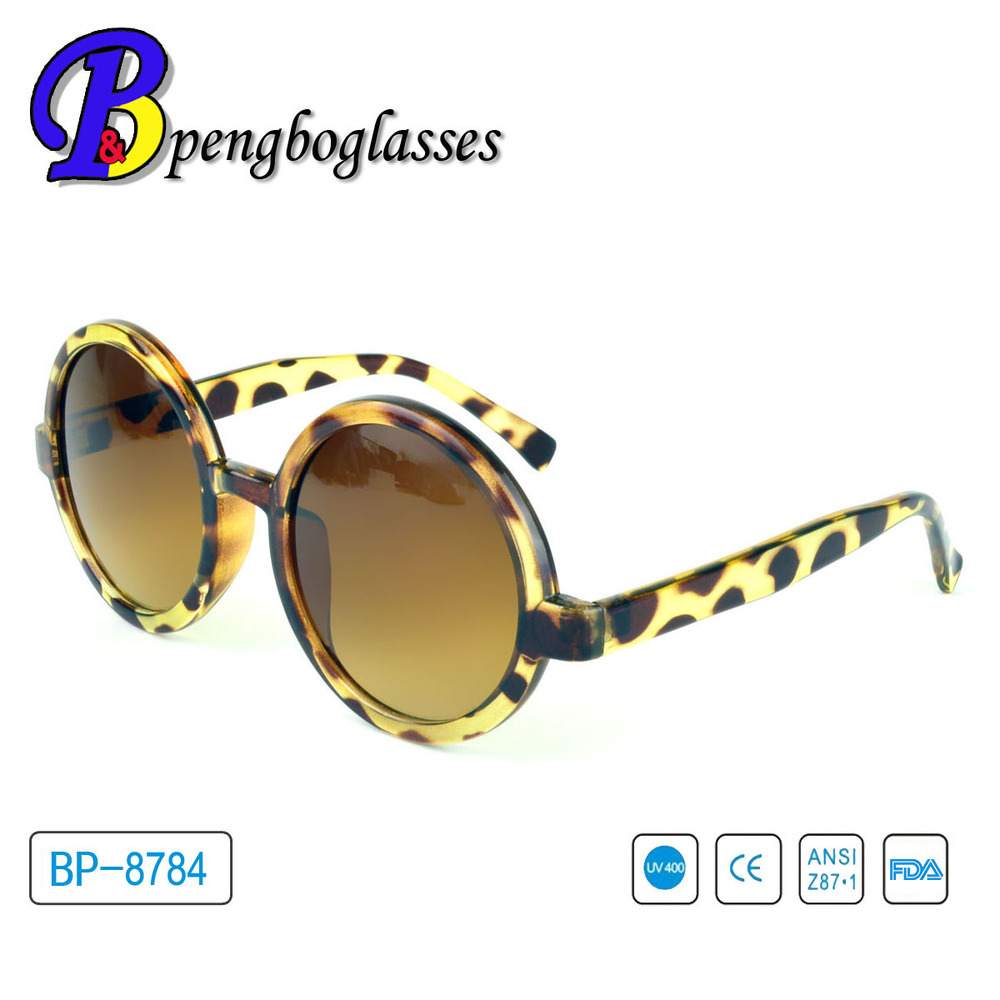 Fashion design Round frame order sunglasses