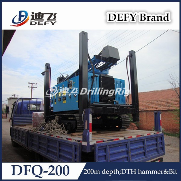 Factory Price Portable Pneumatic Drilling Machine DFQ-200
