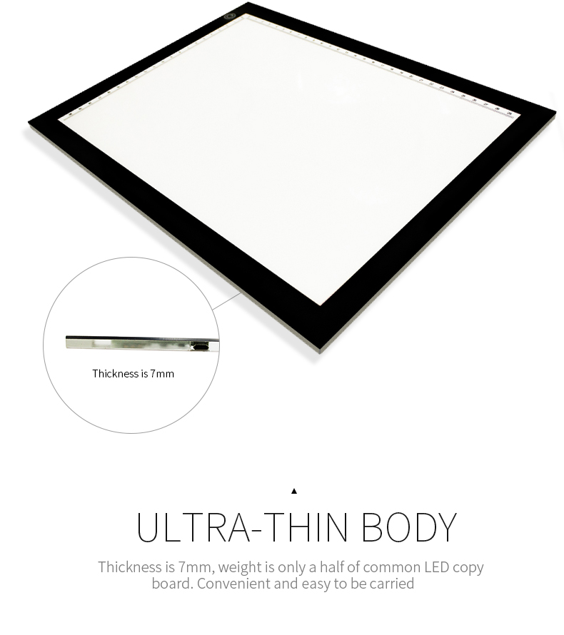 Ultra-thin LED writing tablet super brightt A4 tracing drawing board for children