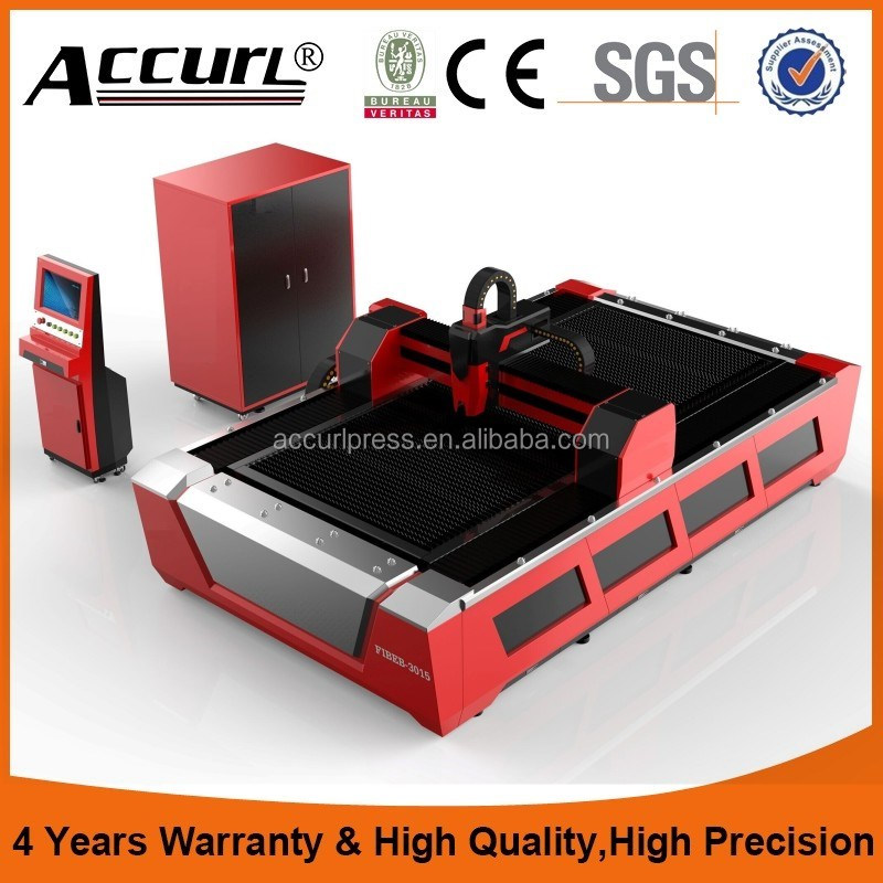 Accurl laser 2 years warranty metal tube and sheet laser cutter BCL1530FBR 500W with CE,ISO,FDA,SGS certificate