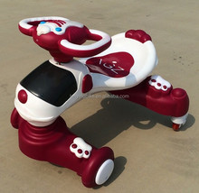2015 unique design popular model baby car/ride on toy/baby swing car