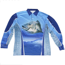 Wholesale sublimation printing shirts fishing clothes quick dry