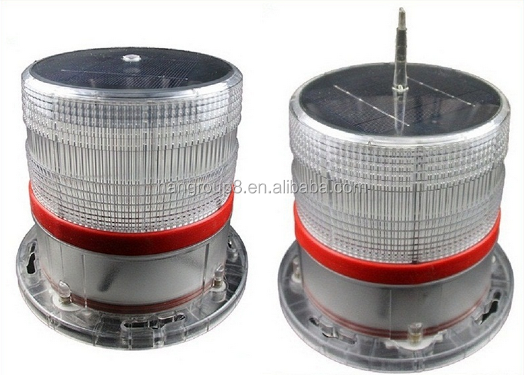 Aviation obstruction led warning light , tower crane aviation obstruction light