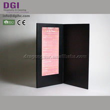 Customized illuminated menu led advertising digital display board