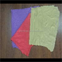 Mixed colored 100% cotton rags and cotton textile waste for marine engineering