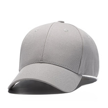 New brand outdoor sport fitted hat solid color cotton golf baseball caps for men women unisex
