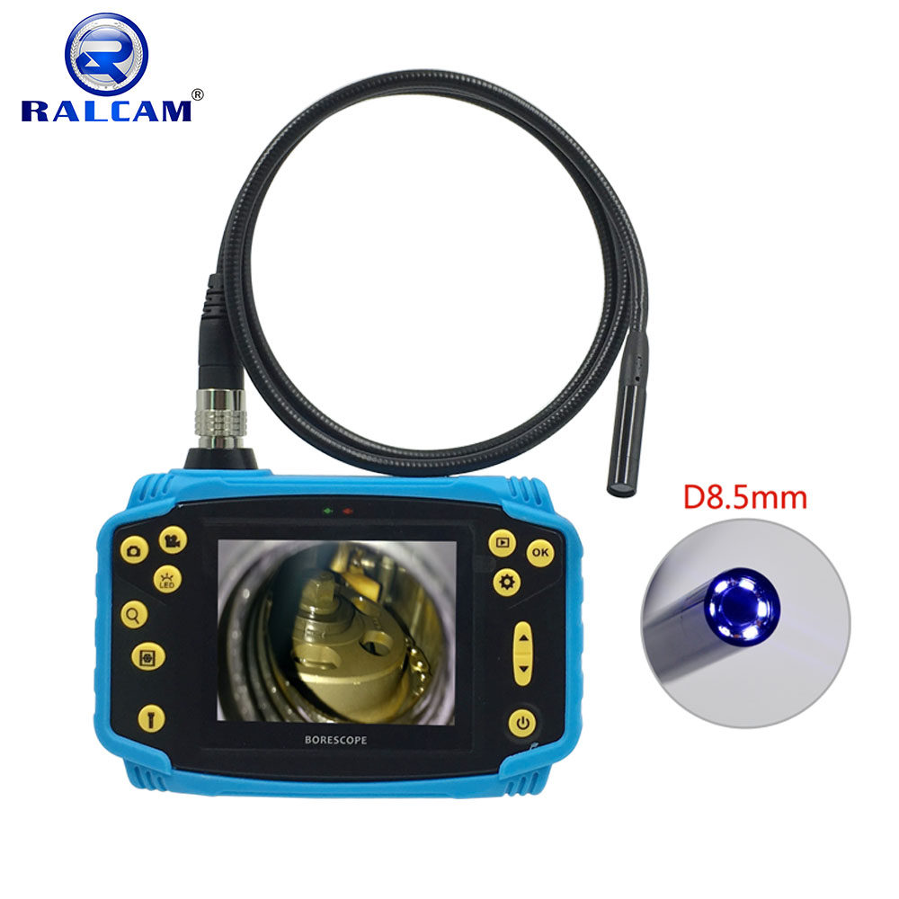 Rechargeable Battery 3.5 inch LCD Screen Multi-functional Portable Video Inspection Borescope Endoscope Camera