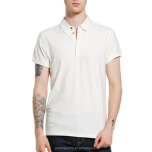 Hot selling breathable men's colorful tee shirts with collar male's plain polo t shirt in bulk