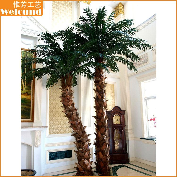 Grossiste palmier decoration plastique acheter les - Como hacer una palmera artificial ...