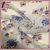 Outdoor Material 100% P Transparent Flower Pattern Printed Polyester Fabric