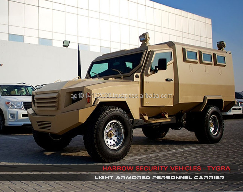 Armored Personnel Carrier - TYGRA - Land Cruiser 79 Platform